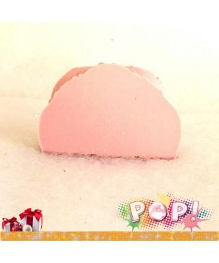 Bûche Sucre d'Orge rose
